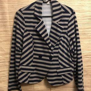GUC cotton blazer/jacket with faux flap pockets
